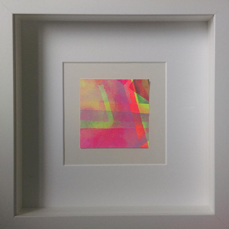 Judith Valeria-Geometrische Abstraktion-Kleinlichter-1-8x8-Acryl auf Leinwand