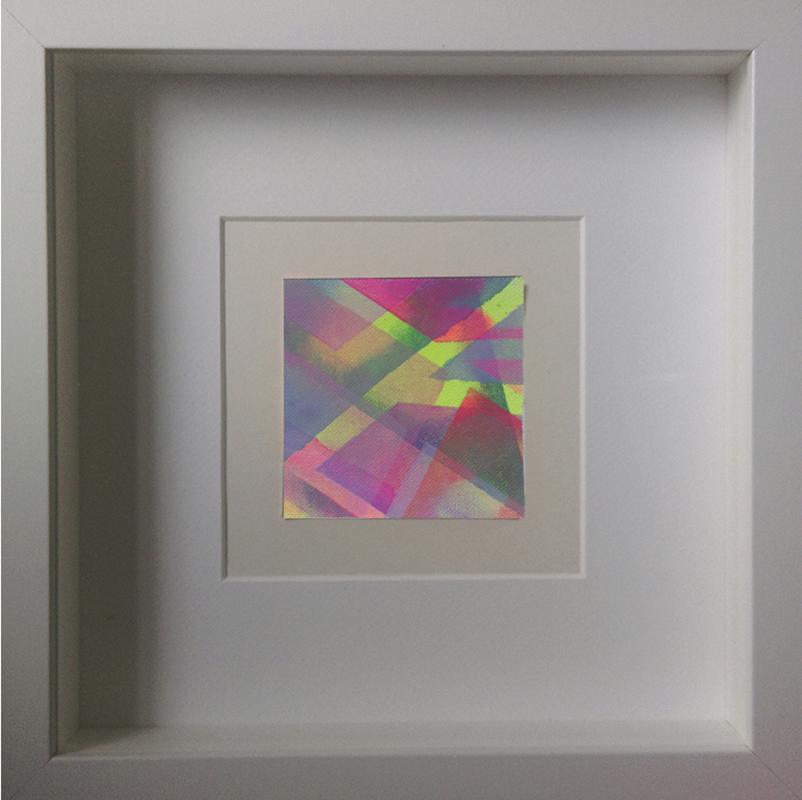 Judith Valeria-Geometrische Abstraktion-Kleinlichter-10-8x8-Acryl auf Leinwand