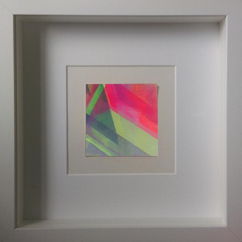 Judith Valeria-Geometrische Abstraktion-Kleinlichter-11-8x8-Acryl auf Leinwand