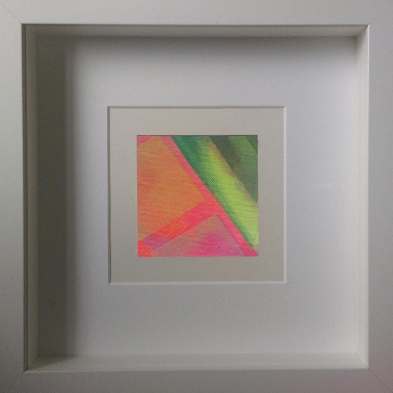 Judith Valeria-Geometrische Abstraktion-Kleinlichter-13-8x8-Acryl auf Leinwand