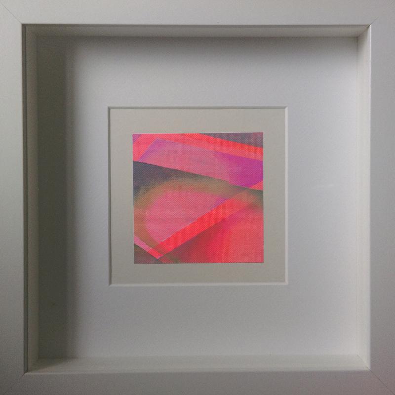 Judith Valeria-Geometrische Abstraktion-Kleinlichter-14-8x8-Acryl auf Leinwand