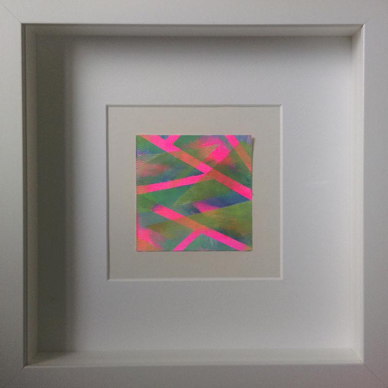 Geometrische Abstraktion - Kleinlichter 15 - 8×8