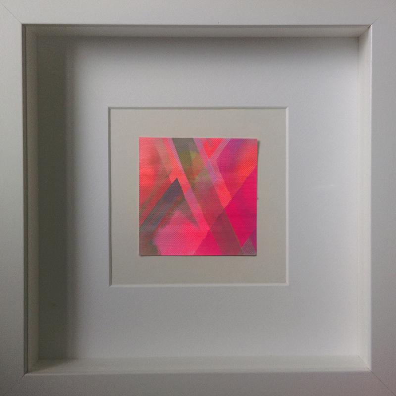 Judith Valeria-Geometrische Abstraktion-Kleinlichter-16-8x8-Acryl auf Leinwand
