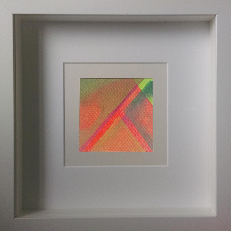 Judith Valeria-Geometrische Abstraktion-Kleinlichter-2-8x8-Acryl auf Leinwand