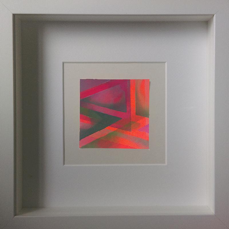Judith Valeria-Geometrische Abstraktion-Kleinlichter-6-8x8-Acryl auf Leinwand