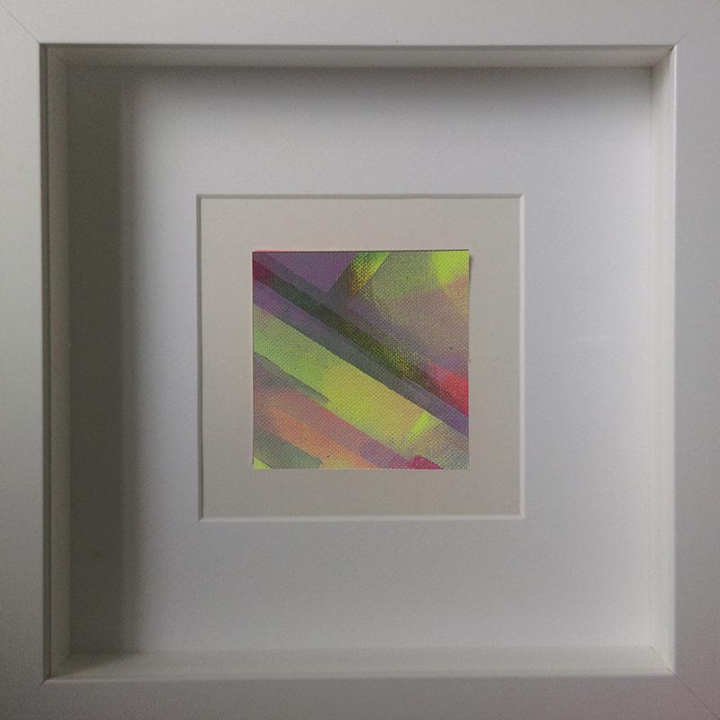 Judith Valeria-Geometrische Abstraktion-Kleinlichter-7-8x8-Acryl auf Leinwand