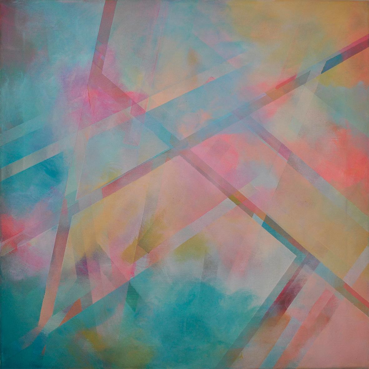 judithvaleria_geometrische Abstraktionen_Acryl auf Leinwand_60x60_traumraum